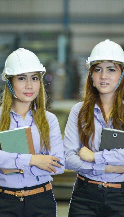 people, staff, construction